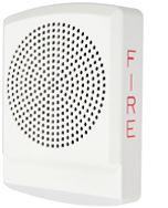 LED High Fidelity Speaker White Fire Lettering