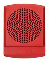 LED High Fidelity Speaker, Red Alert Lettering