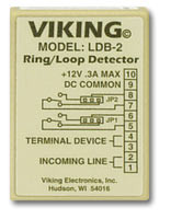 Viking RIng/Loop Telephone Detector Relay LDB-2