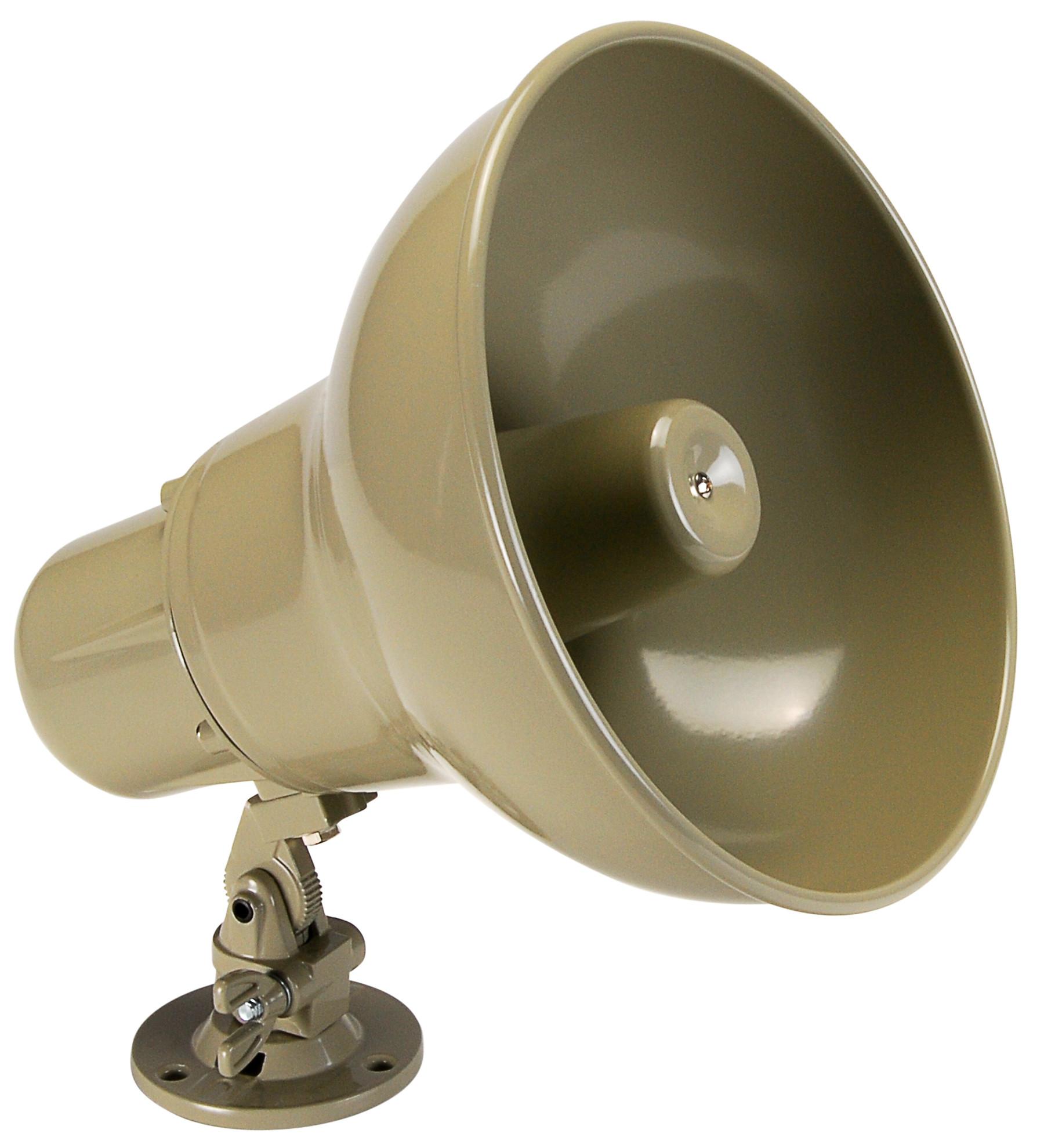 Quam Paging Horn, 25/70V Universal Mount