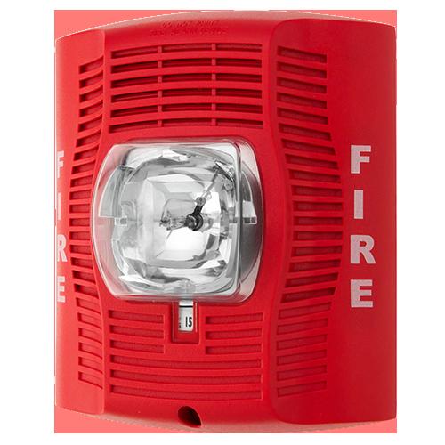 Red Speaker Strobe