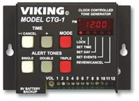 Viking Programable Tone Generator Clock Controlled for Paging Systems