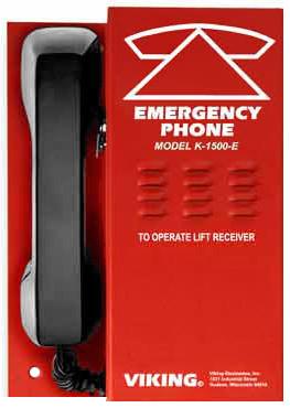 Wall Mount Emergency Phone - VIK-K-1500-E