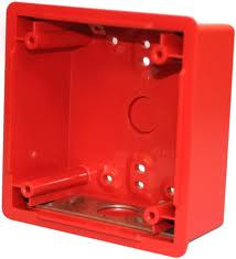 "4"" Red Backbox"