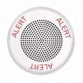 ELFHNWC-AL ELUXA White Low Frequency Ceiling Fire Alarm Horn (Alert lettering) 24V by EATON