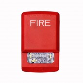 ELSTR ELUXA Wall Fire Alarm Strobe Light 24V by EATON