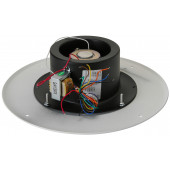 Quam Paging Horn Speaker 25/70V on Round Vandal Resistant Baffle