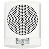 LED High Fidelity Speaker Strobe, White Alert Lettering