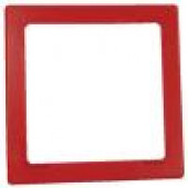 Red Notification Appliance Trim Plate