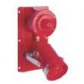 MEDC XB11DB425ULX70 Explosion Proof Speaker Horn with Red Strobe and Red Lens