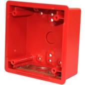 "4"" Deep Red Backbox"
