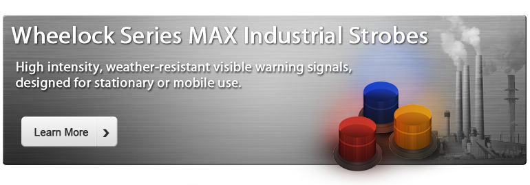 Wheelock Series MAX Industrial Strobe